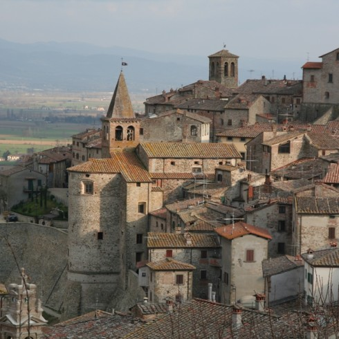 Landscape and medieval towns of the Valtiberina, Tuscany
