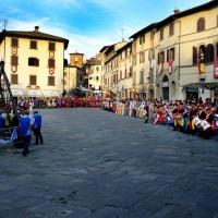 Anghiari - Baldaccio square