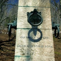 Valtiberina - Tiber spring monument