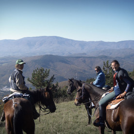 Riding holiday in Tuscany, for beginners and advanced