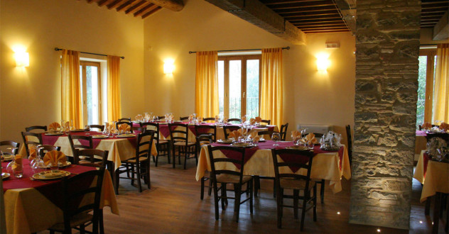 Bio restaurant: Traditional Tuscan flavours, using organic or km O products