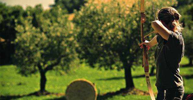 Archery: school & outdoor range in Tuscany