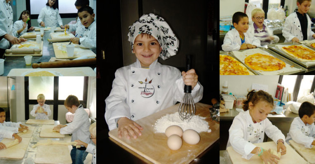 Cooking classes for kids in Tuscany!