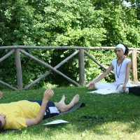 Yoga in the green of Valtiberina Toscana