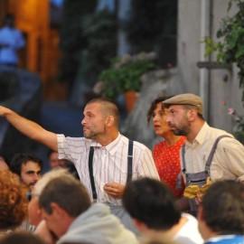 Tovaglia a Quadri Anghiari Tuscany