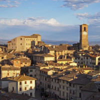 Anghiari - the old town