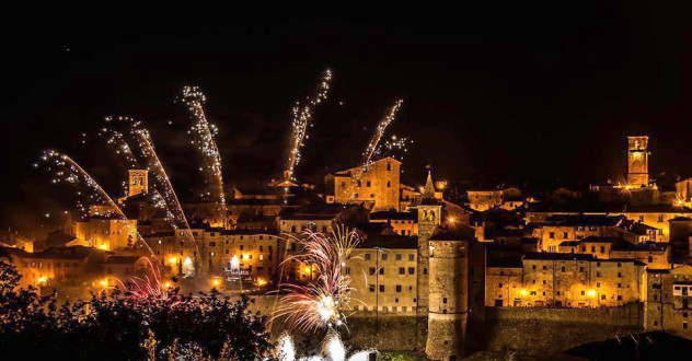 Celebrating New Year's Eve in Tuscany